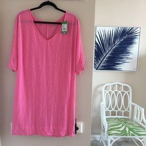 NWT Lilly Pulitzer Eliza Dress Hotty Pink - M